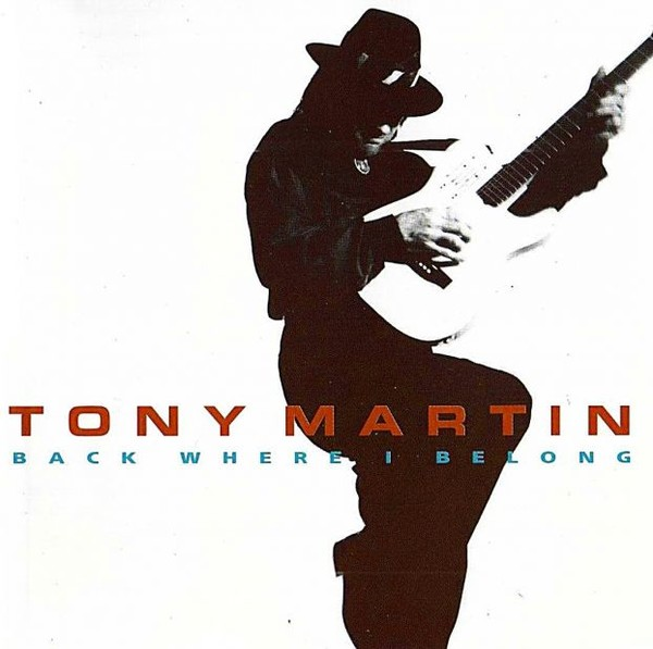 Tony Martin - Back Where I Belong - 1992